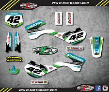 Kawasaki KX 125 / 250 1999 - 2002 Decal kit STRIKE STYLE Graphics / sticker kit