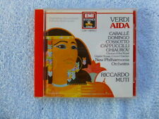 Verdi AIDA Highlights  - Riccardo Muti - EMI  CD  Nice!