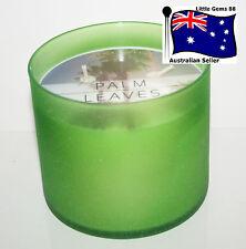 BATH & BODY WORKS * PALM LEAVES * 3 WICKS 14.5OZ CANDLE Glass JAR