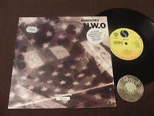 "10"" 3 Tr. 45 RPM Ministry N.W.O UK 1992 | EX"