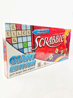 Scrabble Crossword Board Game Giant Edition 2012 Board & Tiles 50% Larger New