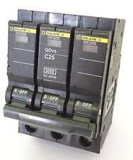 Schneider Square D QOvs C25 Leitungsschutzschalter Sicherungsautomat 25A 3 polig
