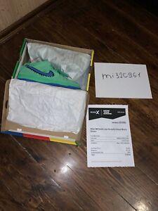 Size 10 - Nike SB Dunk Low x Grateful Dead Green Bear 2020