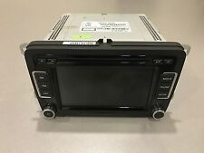 VW 2010-2015 RCD 510 Media Set 6 Disc CD Player Touch Screen Bluetooth USA Vers.