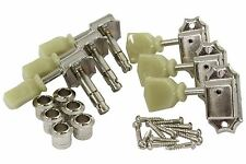 GOTOH SD90 locking Kluson 3 x 3 tuners Nickel
