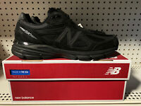 New Balance 990v4 Mens Athletic Running Shoes Size 11.5 Triple Black M990BB4 USA