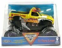 Monster Jam 1:24 Die-Cast Monster Truck - NEW 2020 Yellow El Toro Loco VHTF Rare