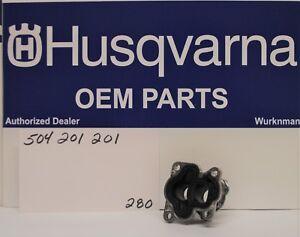Genuine OEM Husqvarna INLET PIPE 504201201 also for Craftsman