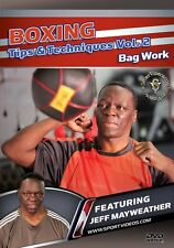 Boxing Tips and Techniques Vol. 2 - Bag Work DVD Jeff Mayweather - Free Shipping