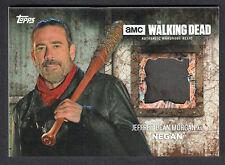 THE WALKING DEAD SEASON 6 Topps 2017 COSTUME RELIC CARD MUD NEGAN PANTS #08/50