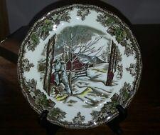 "Johnson Brothers Friendly Village Dessert  Salad Plate ""The Sugar Maples"""