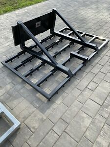 Dirt rake Attachment for Skid Steer or Bobcat