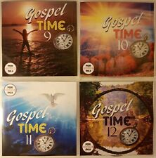 'Gospel Time' Vol 9-12 JUMBO 4pack New & Classic Reggae Gospel, Vocal, Ska, Soca