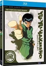 Yu Yu Hakusho . Ghost Files . The Complete Season 1 .. Anime .. 3 Blu-ray .. NEU