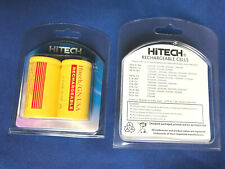 """2pcs Hitech""""D""""size Consumer Rechargeable NiCd 1.2V5Ah Battery*Blisted Shell Card"""