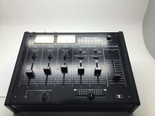 More details for vintage realistic stereo disco mixer mixing console twin illuminated vu meters