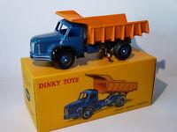 Berliet Benne Carrières - ref 34A / 34 A au 1/43 de dinky toys atlas