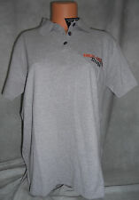 HARLEY DAVIDSON/BUELL AMERICAN MOTORCYCLES WOMEN'S L GRAY POLO STAFF SHIRT, NEW!