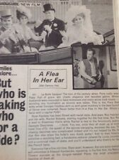 ea5 Ephemera 1968 Film Review A Flea In Her Ear  1 Page