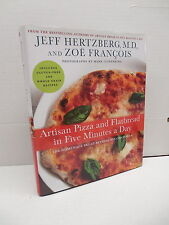 Artisan Piza & Flatbread In Five Minutes A Day Recipe Cookbook Bread Guide