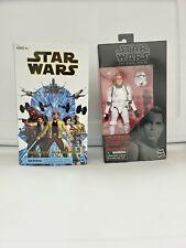 Star Wars Black Series LOT OF 2 Luke Skywalker Death Star and Strikes NEW