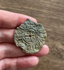 More details for medieval. 13th century. lead seal matrix.