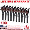 Ignition Coil 10 Pack For Ford Multispark Blaster Epoxy V10 6.8L DG508 C1454