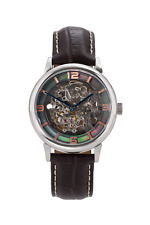 Skeleton Watch Automatic British Built Limited Edition Black Pearl & Copper