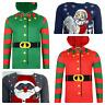 Mens Christmas Jumper Xmas Novelty Knitwear Sweater Santa Snowman Bnwt
