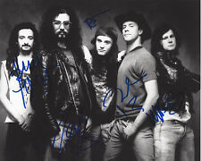 FAITH NO MORE (BAND) SIGNED AUTHENTIC 8X10 PHOTO B w/COA CLASSIC LINEUP X5 PROOF