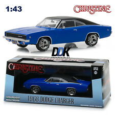 "GREENLIGHT 86531 DENNIS GUILDERS 1968 DODGE CHARGER ""CHRISTINE"" DIECAST CAR 1:43"