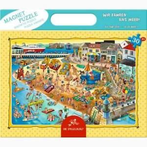 Die Spiegelburg Magnetpuzzle Wir fahren ans Meer