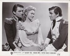 GREGORY PECK VIRGINIA MAYO Original Vintage HORATIO HORNBLOWER Portrait Photo