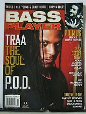 BASS PLAYER Magazine November 2003 Vol.14 #11 - TRAA, P.O.D. Primus Les Claypool