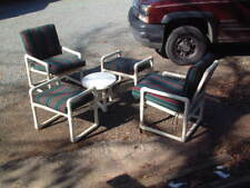 Outdoors 5 Piece Patio, Garden Set, Heavy Duty, with Cushions