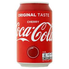24 blikken Coca cola Cherry NL  0,33 liter Aanbieding nu slechts € 19,99