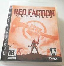 RED FACTION GUERRILLA PS3 PLAYSTATION 3 NUOVO SIGILLATO SPED GRATIS SU +ACQUISTI
