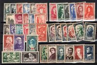 PP135496/ FRANCE – YEARS 1937 - 1950 MINT MNH / MH SEMI MODERN LOT – CV 236 $