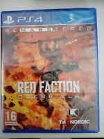 red faction guerilla remastered ps4 ps 4 playstation neuf sous blister