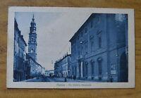 CARTOLINA PARMA VIA VITTORIO EMANUELE VIAGGIATA 1913 SUBALPINA HH