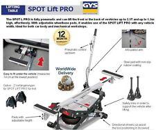 GYS SPOT LIFT PRO 2.5T 2500KP FULLY PNEUMATIC LIFTING TABLE LIFTS 1.5M HIGH