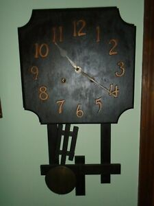 Antique Gilbert Model 55-D 8 Day Mission Style Clock