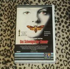 Das Schwiegen Der Lammer [VHS PAL] Silence of the Lambs German Import VHS HTF