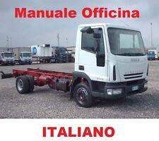 IVECO EUROCARGO (2002/2008) MANUALE OFFICINA RIPARAZIONE ITALIANO SU CD