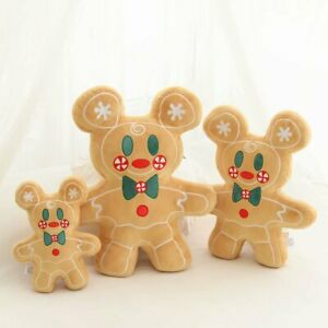 Gingerbread Man limited Christmas Stuffed Plush Mickey 2022 Minnie Mouse