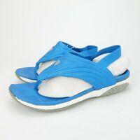 Therafit Womens Summer Sandals Comfort Thong Slingback Blue Size 10 Medium