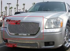 Fits 2005-2007 Dodge Magnum Stainless Mesh Main Upper Grille Insert