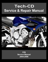 yamaha fz6 service manual free