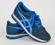 Onitsuka Tiger Men's Sz US 9 OC Runner Shoes DL301 Blue Suede Lace Up Sneakers