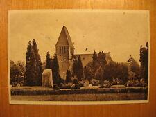 ~1920 alte AK Oldenburg i.O. Neuer Friedhof Auferstehungskirche Kirche